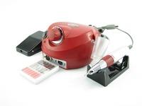 Pro Electric Nail Art Drill Manicure Set File Grey Nail Pen Machine Set Kit With EU Plug electric pedicure machine nail