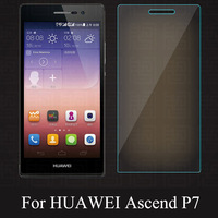 New High quality 0.3mm 2.5D Premium Tempered Glass Screen Protector for  HUAWEI Ascend P7 Toughened protective film