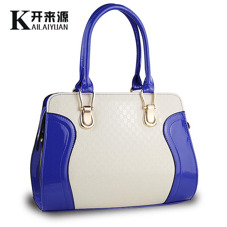 Bolsa Feminina Da Moda 2014 : Bolsa cor da moda decora??o bloco saco sorridente