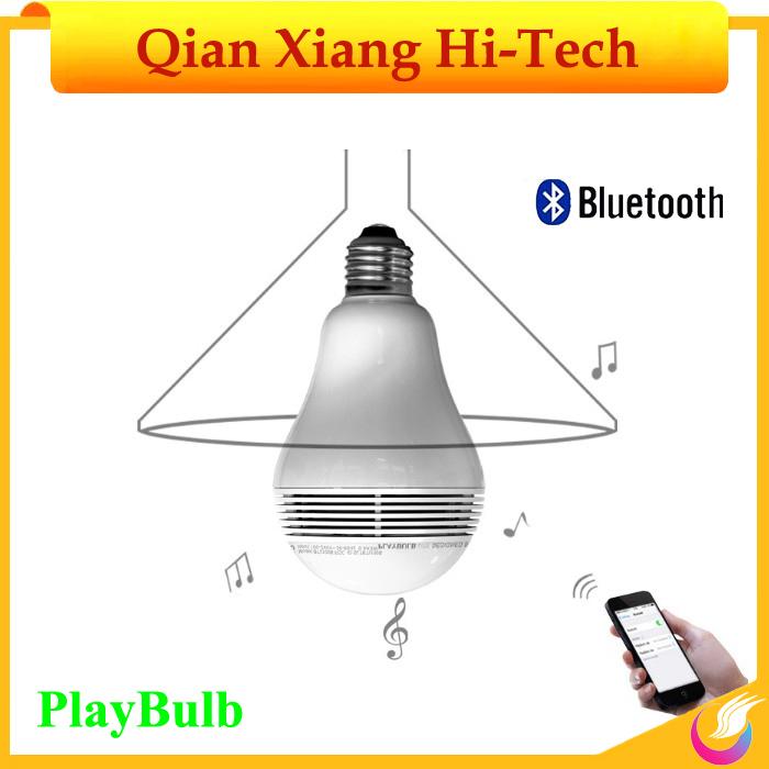 Smart Bulb bluetooth Led Speaker PlayBulb (Wireless Bluetooth Music Audio +Colorful light +LED Lighting 3) Valentine's Day Gift(China (Mainland))