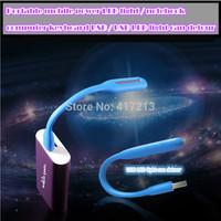 (50 pcs/lot ) portable eye protecting lamp / LED mobile power LED lamp / notebook computer keyboard USB LED lamp Free transport
