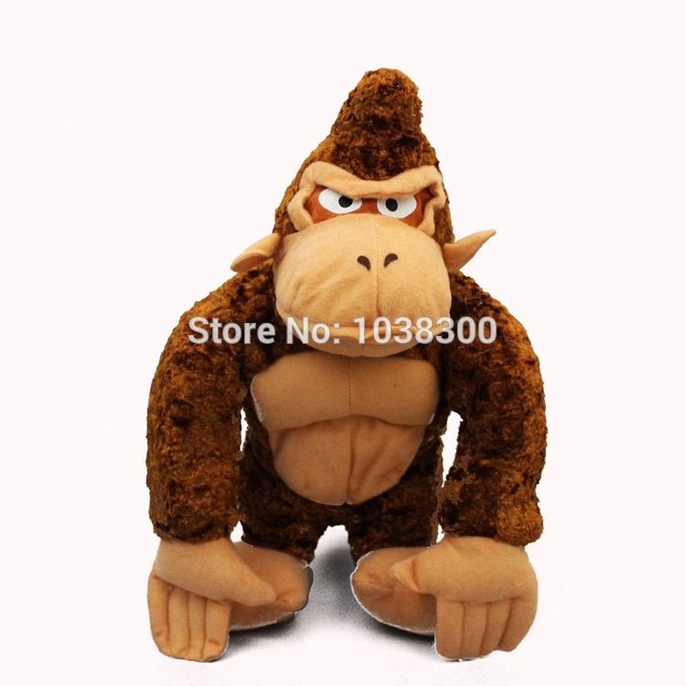 50pcs Anime Plush Toys Doll Animation Film Gorilla Monkey Dolls 30CM Stuffed Animal Toys For Children Best Gifts By EMS(China (Mainland))