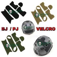 High quality Airsoft Tactical Helmet Velcro for PJ Sytle Fast Carbon Helmet 3 Colors OD/DE/BK