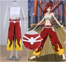 TAIL Elza Scarlet Cosplay