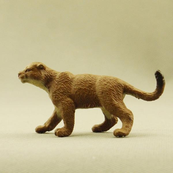 American Safari genuine bulk Africa wild animal model toy leopard rare grey(China (Mainland))