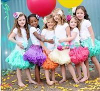 Colorful~ girls gauze princess Skirt baby tutus beautiful in colors