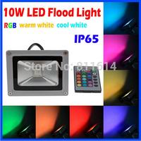 10W 20W 30W 50W Warm White Cool White RGB Remote Control Contemporary LED Floodlight Flood Light Outdoor Lighting Wall Garden