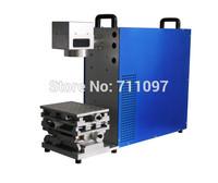 Free shipping TBX-10W Economy Portable Fiber Laser Marking Machine