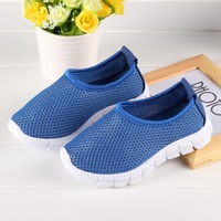 2015 New arrival baby kids comfortable sneakers boy and girl slip on Children's sports shoes breathable mesh shoes CP5011
