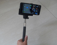 Free Shipping Wireless Bluetooth Remote Extendable Selfie Monopod Stick Z07-5 For iPhone 6 Plus 6 5 5s Samsung note 4 S5--Black