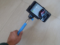 2 in 1 Extendable Handheld Wireless Bluetooth Monopod Selfie Stick For iPhone 4s/5/5s/6 Plus IOS Samsung Android Smart Phone