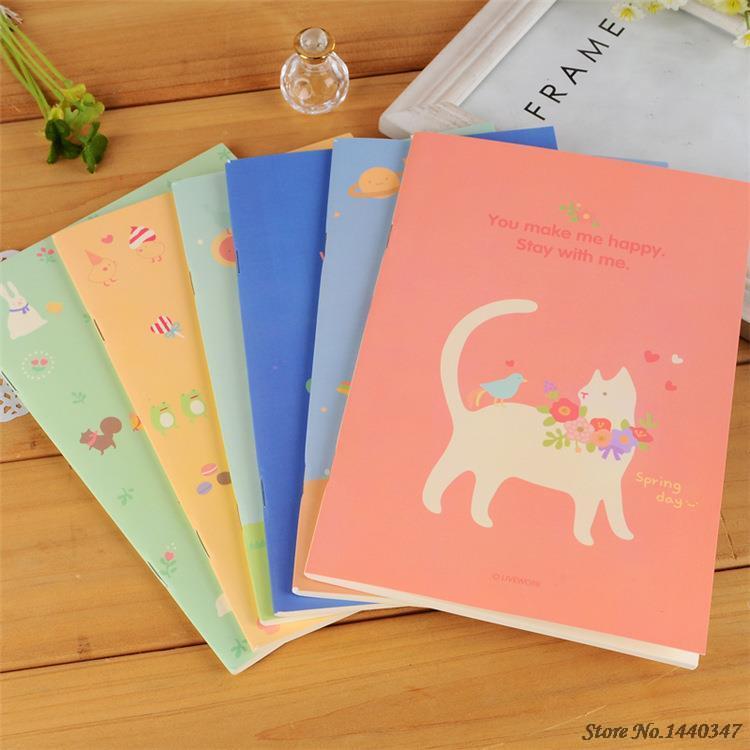 Manuscript Paper Book 2015 Composition Book Printed Paper no Sale Agenda F894 Cute Little Girl