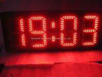 large desktop digital clock