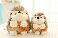 2015 new super cute hedgehog plush toy high quality doll home decoration gift for babies 0-12 months baby children dolls toys 1p