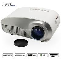 Full HD 1080P Digital projector for PC Projector Mini Led Projector Portable HDMI VGA AV Home Theater Projector