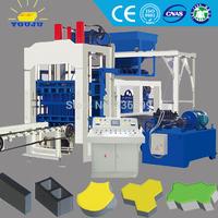 Full automatic interlocking block making machine made in China, QT8-15