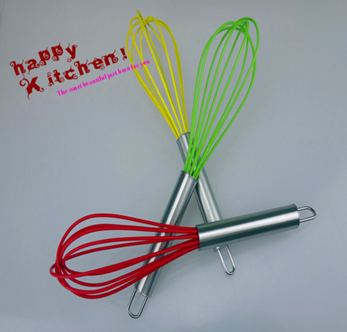Mini-color-8-inch-stainless-steel-manual-Eggbeater-essential-kitchen