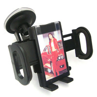 360 Rotation In-car CAR Windshield mount Holder/Cradle kit for phone iPhone/MP4/GPS/I9300 S4 7'' Tablet 2pcs/lot