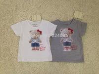 Freeshipping  2015 NEW fashion  100% cotton babies t-shirt  boy's t-shirt  fashion kid's short t-sirt for 6-36M A0579