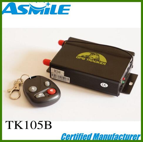 TK105B sim cards gps tracker central door lock car vehicle gps trackers(China (Mainland))