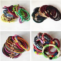 10 Pcs/lot Quality Elastic Hair TiesHolder Audlt Hair Ropes Women Hair Accessories