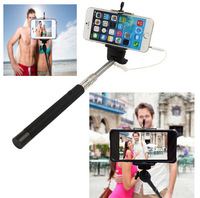 7934 Audio Cable Wired Camera Selfie Stick Monopod For Mobile Phone Extendable Handheld Tripod Monopod  go pro selfie stick
