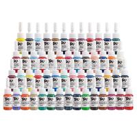 Panda Tattoo Ink 54 Colors Set 5ml /Bottle Tattoo Pigment Kit TI1002-5-54
