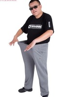 6XL 3color high quality Unisex Loose straight Trousers Casual sport pants free shipping