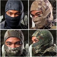 Rattlesnake Tactical Airsoft Hunting Wargame Breathing Full Face Balaclava Mask Motorcycle Skiing Cycling Hood Goggles Python