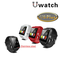U8 Plus Pro Smart U Watch Bluetooth Smart Wristwatch For iPhone 6/5s/5/4s/4 Samsung S4/Note2/Note3 Android Celular Cell Phone
