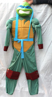 New style children teenage mutant ninja turtle Party Cosplay Costume include Muscle clothes + Mask + Turtle Shell