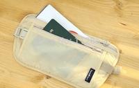 Free Shipping+Wholesale Travel Waist Pack Purse Storage Bag Purse Coin Cards Passport Waist Belt Tickets Bag,300pcs/Lot