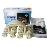 Chiropractic Supplies, 16-Wheel Space Car Massager, 32 Magnets, Universal Car, Rover massage body massage roller caster vehicles