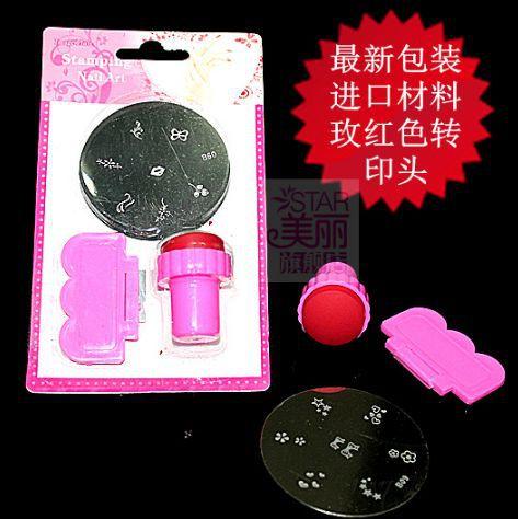 nail stamping plates konad stamping Print art plate Set Kit styling nail tools makeup gel nail polish tools nails art M104(China (Mainland))