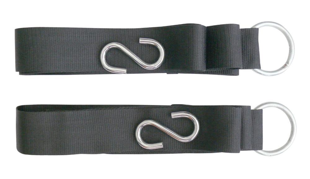 2015 Sale New Derailleur Hanger Decorative Coat Hooks Frame Hanger Outdoor Nylon Hammock Lashing Strap/belt with S Shape Hook(China (Mainland))
