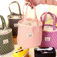 New arrival fresh fluid lunch bag Thermal Insulated Cooler Waterproof Lunch Picnic Bag Carry Storage Pouch Handbag