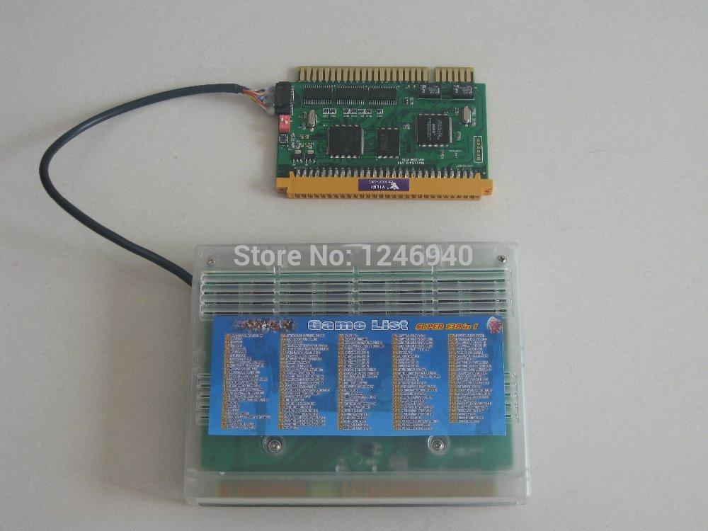 high quality Neo Geo SNK Cartridge Super 138 in 1 Mutli Game PCB Jamma Board horizontal monitor game machine/arcade cabinet(China (Mainland))