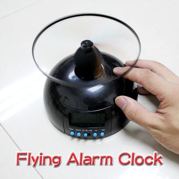 Горячая распродажа творческие игрушки с часами подсветка будильник подарков летающий ленивый вертолета E NVIE
