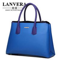 2015 Rushed Limited Freeshipping Single Soft Women Bags 2014lanvera Women's Handbag Platinum Female Scrub Bag Big Large Capacity