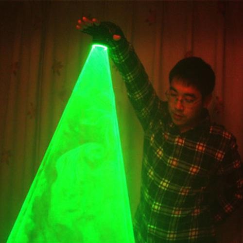 Green Handheld Laser Cannon. Laser Whirlwind. Vortex .Laser Man stage supplies LED Laser gloves nightclub performances dedicated(China (Mainland))