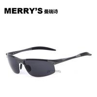 MERRY'S 2015 Fashion Polarized Coating Sunglass Alloy Polaroid Sunglasses Women Brand Designer Men Sun Glasses Sports Oculos