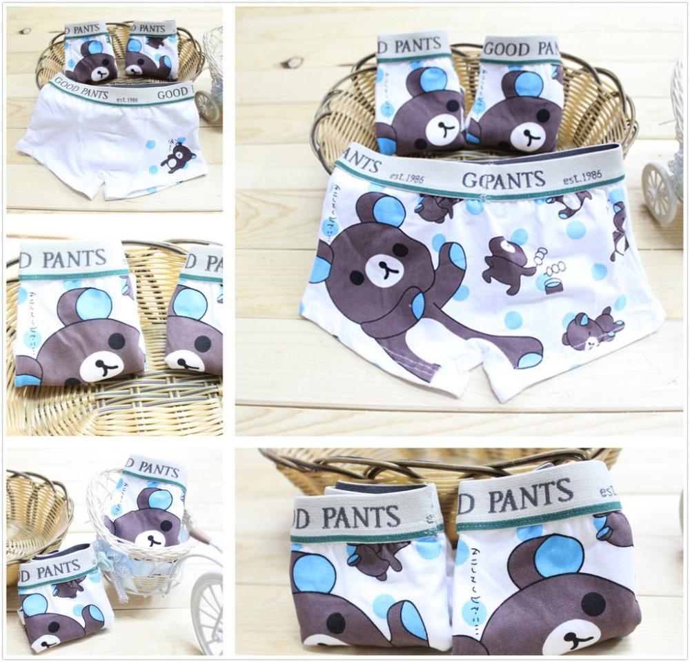 wholesale short panties boys underwear boxer bear baby kids pants children cheap(China (Mainland))