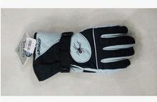 Человек-паук лыжный перчатки, В тёплый водонепроницаемый ветрозащитный езда на велосипеде означает лыжный спорт мотоцикл перчатки