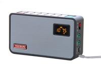 Tecsun ICR-100 ICR100 FM Portable Radio receiver with Digital Recorder MP3 Player speaker + 1GB TF/Micro SD Card+Li-battery