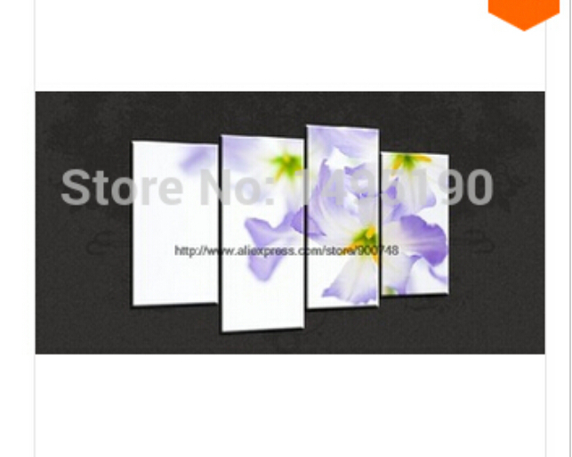 Poppies Floral Watercolour Cascade Canvas Picture Poster Oil Paintings(China (Mainland))