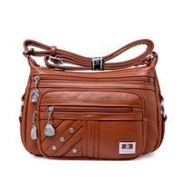 2014 New Fashion Women's Leather Handbag Leisure  Shoulder Bag  Messenger Bags F2208