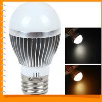 2pcs! 3W E27 85V - 265V 110LM 12 x 5730 LED Bulb Energy-saving White / Warm White Light LED Lamp Bulb for Home Use Dropship