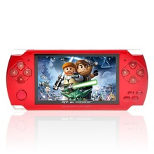 4.3 inch mp3 mp4 Player Music Downloads MP5 Game Player 4GB with psp Game-Red(China (Mainland))