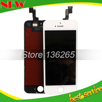 Brand New for iphone 5S LCD Touch Screen With Digitizer Assembly ,White color Free Shipping !!!