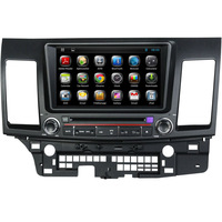 Pure Android 4.2 Car DVD GPS for Mitsubishi Lancer Capacitive Screen Wifi 3G GPS Bluetooth Radio USB IPOD Canbus